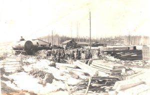 Газизова В.П. - Строительство станции Салым. Прорабка. 1974