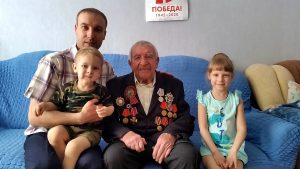 Иван Петрович Таушев, ветеран, ВОВ, семья