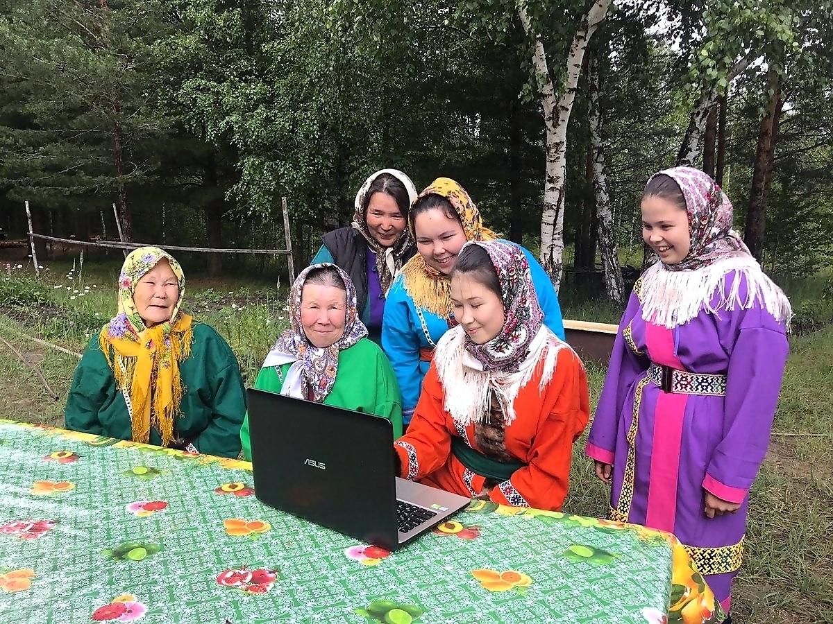 КМНС, ханты, аборигены, компьютер, цифровизация