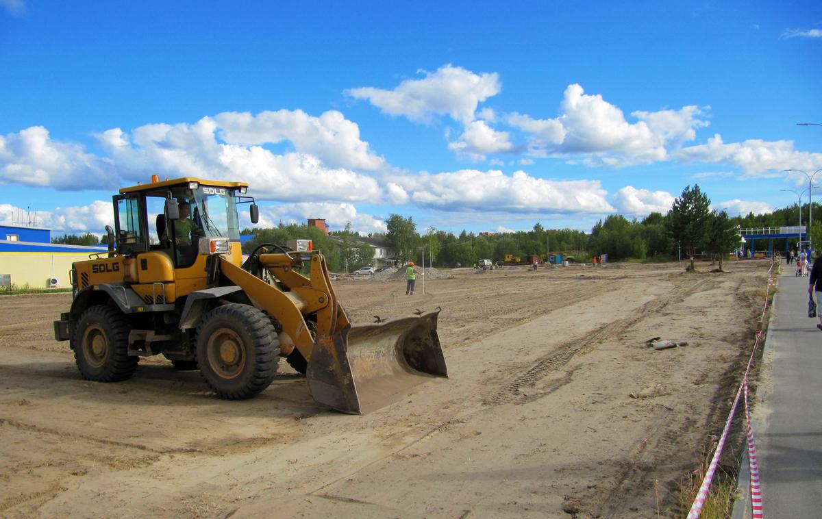 трактор, строительство, проект