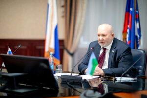 Владимир Семенов, дума Югры, заседание