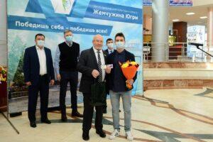 Владимир Семенов, награждение спортсменов