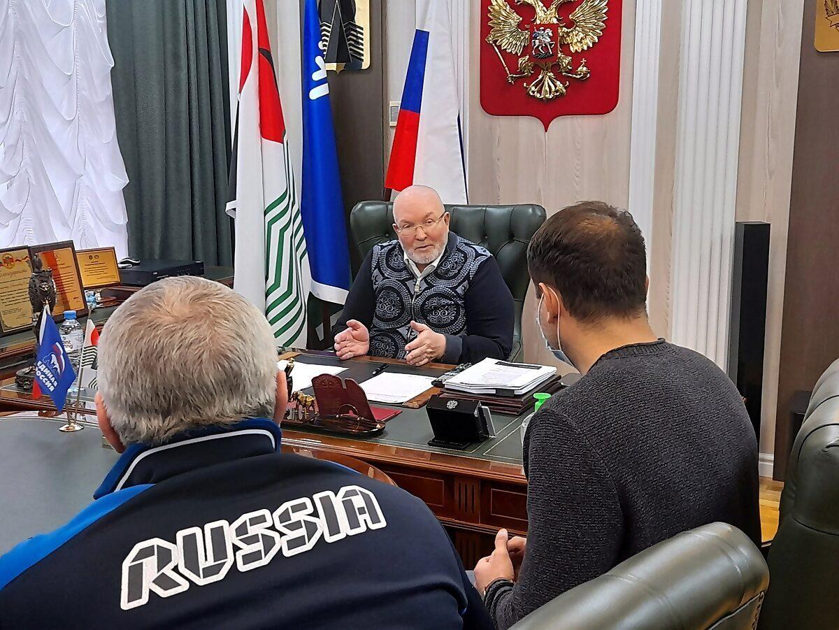 Владимир Семенов, прием