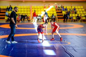 спорт, дети, борьба