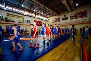 спорт, борьба, турнир, дети