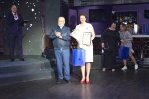 Влдаимир Семенов, вручение, поздравление