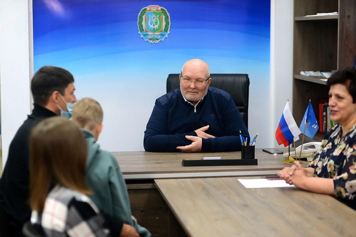 Владимир Семенов, Алла Бочко, прием