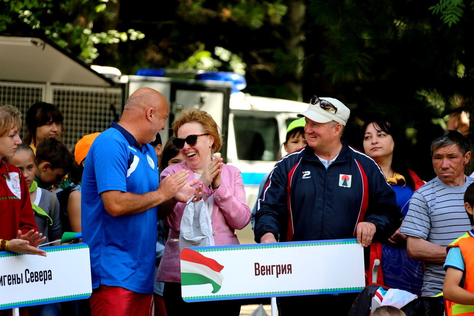 Кубок губернатора Югры по гонке на обласах