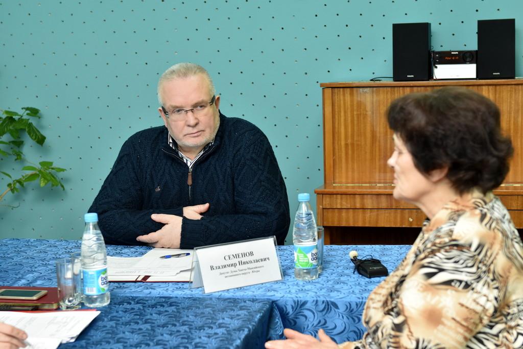 Владимир Семёнов, прием