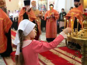 храм Пойково, девочка, вера