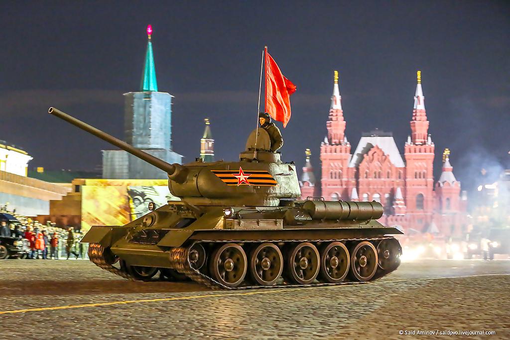 t-34, армия, День Победы