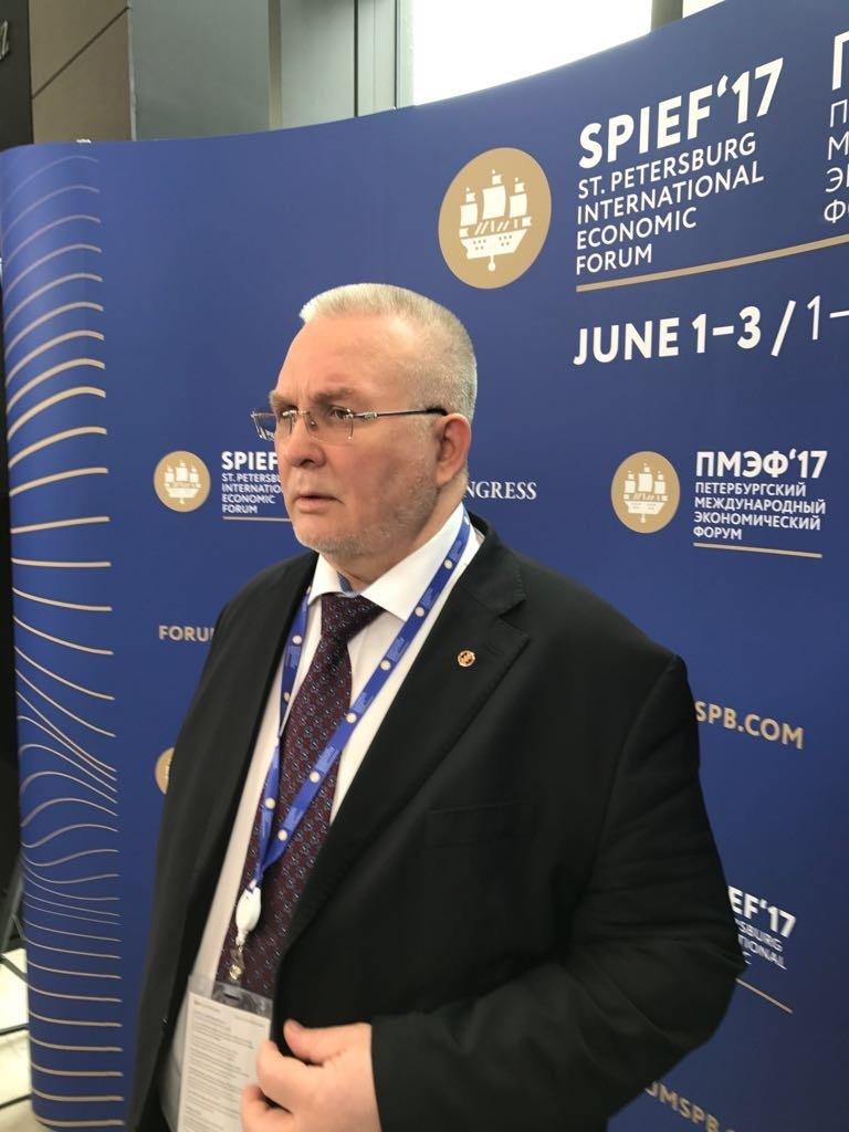 Владимир Семёнов, ПМЭФ 2017