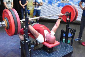 спорт, жим штанги, bench press