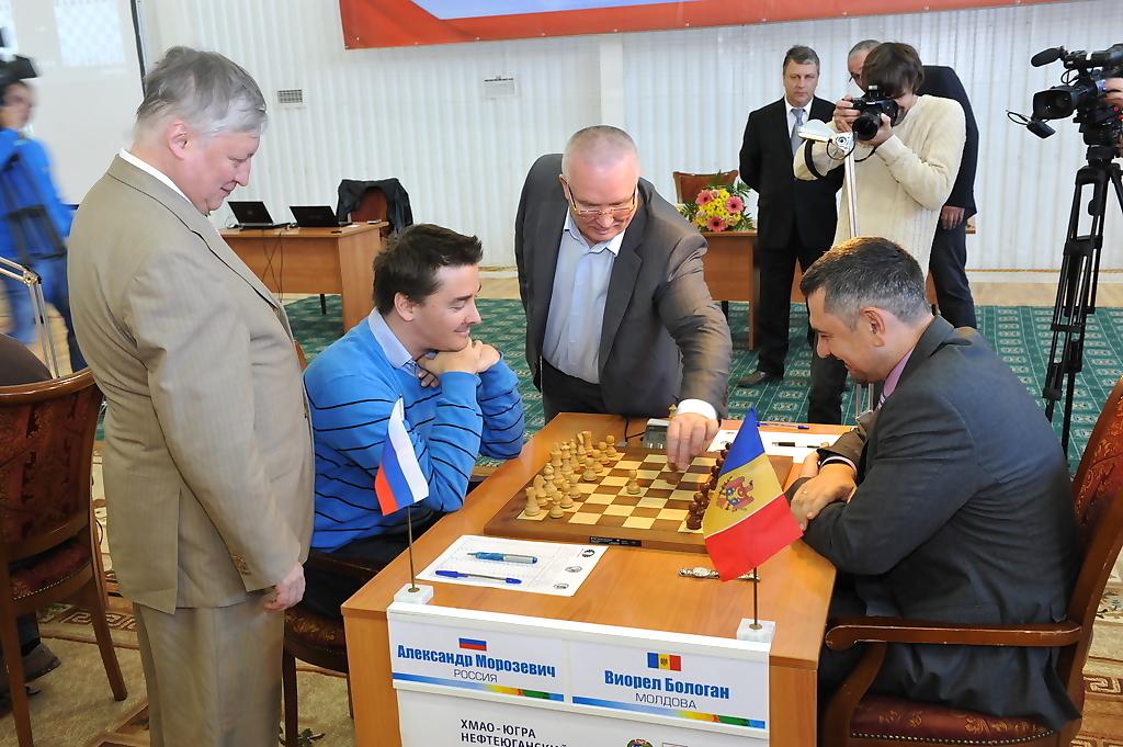 Анатолий Карпов, Владимир Семёнов, шахматы