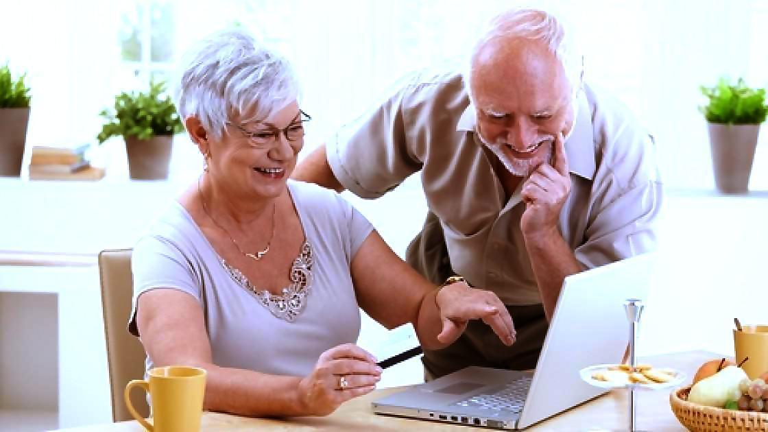 старшее поколение, компьютер
