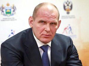 трёхкратный победитель Олимпийских игр Александр Карелин