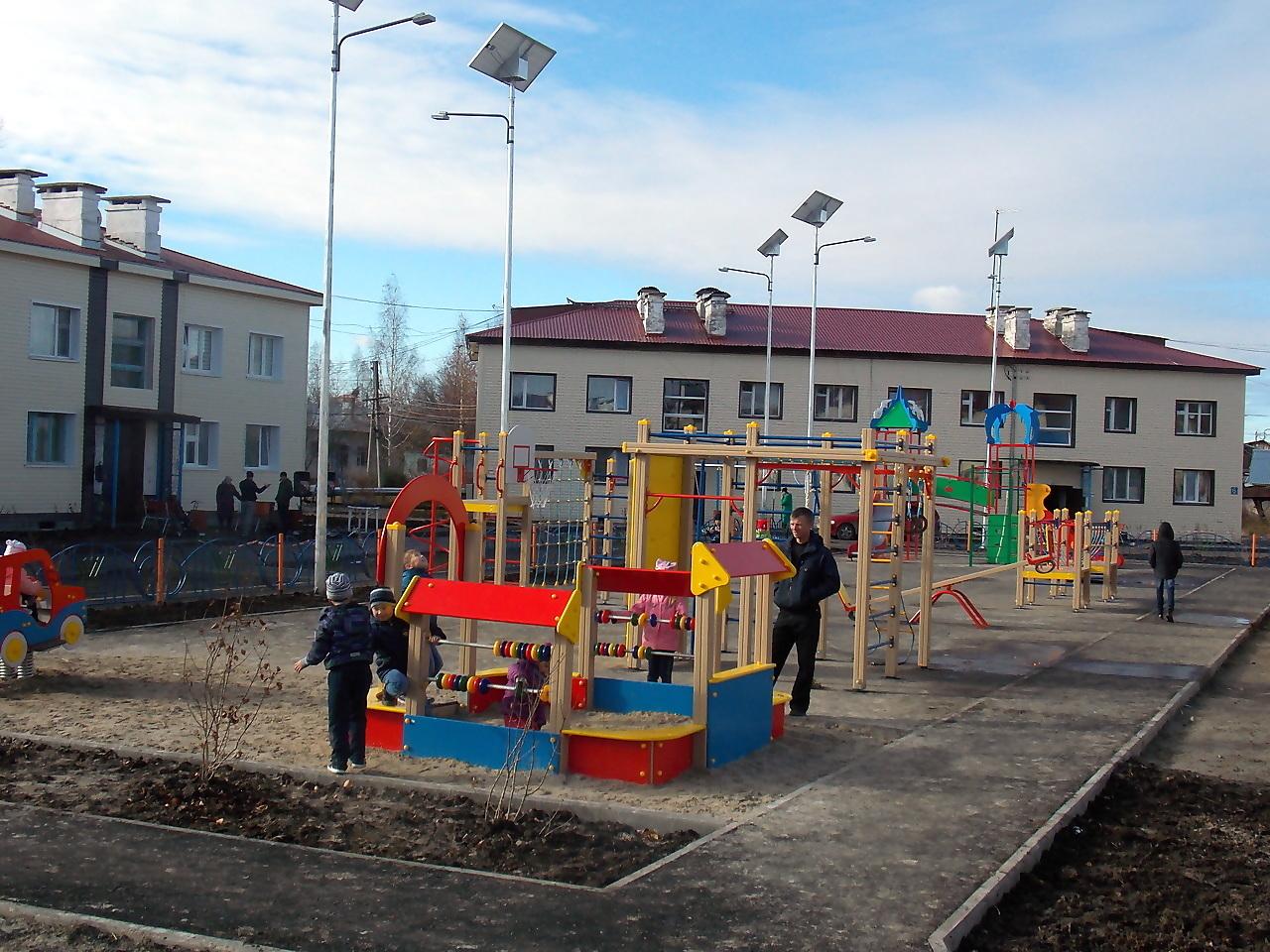 детская площадка, двор, благоустройство
