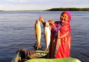 Победительница. День рыбака в Ванзевате, Белых Владислав Саввович, г.Белоярский