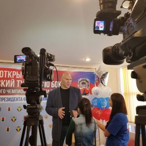 турнир по боксу имени Вячеслава Яновского, Николай Валуев