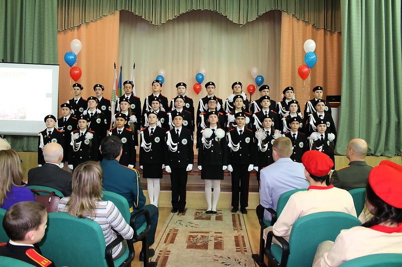 кадеты, хор, встреча поколений