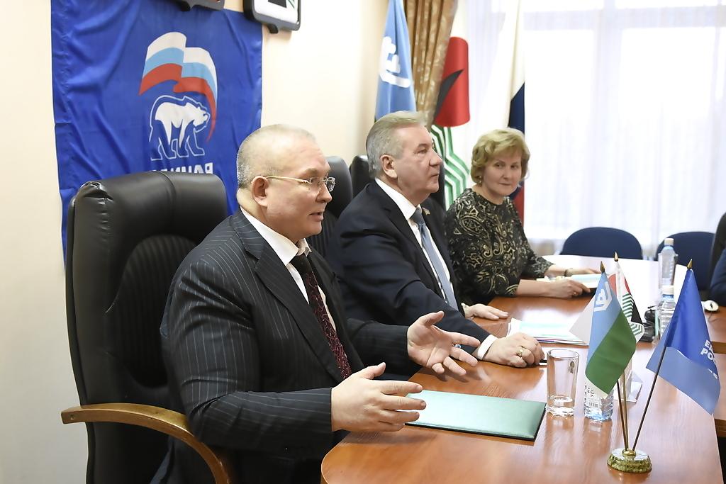 Владимир Семенов, Борис Хохряков, Галина Лапковская