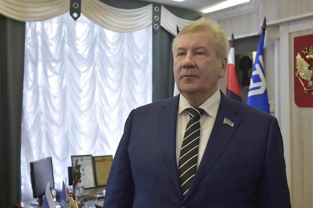 Борис Хохряков, председатель думы Югры