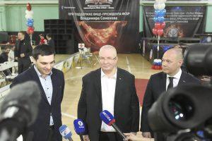 Борис Бурзиев, Владимир Семенов, Георгий Брюсов