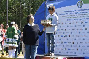 Международные соревнования на Кубок Губернатора Югры по гребле на обласах 2018