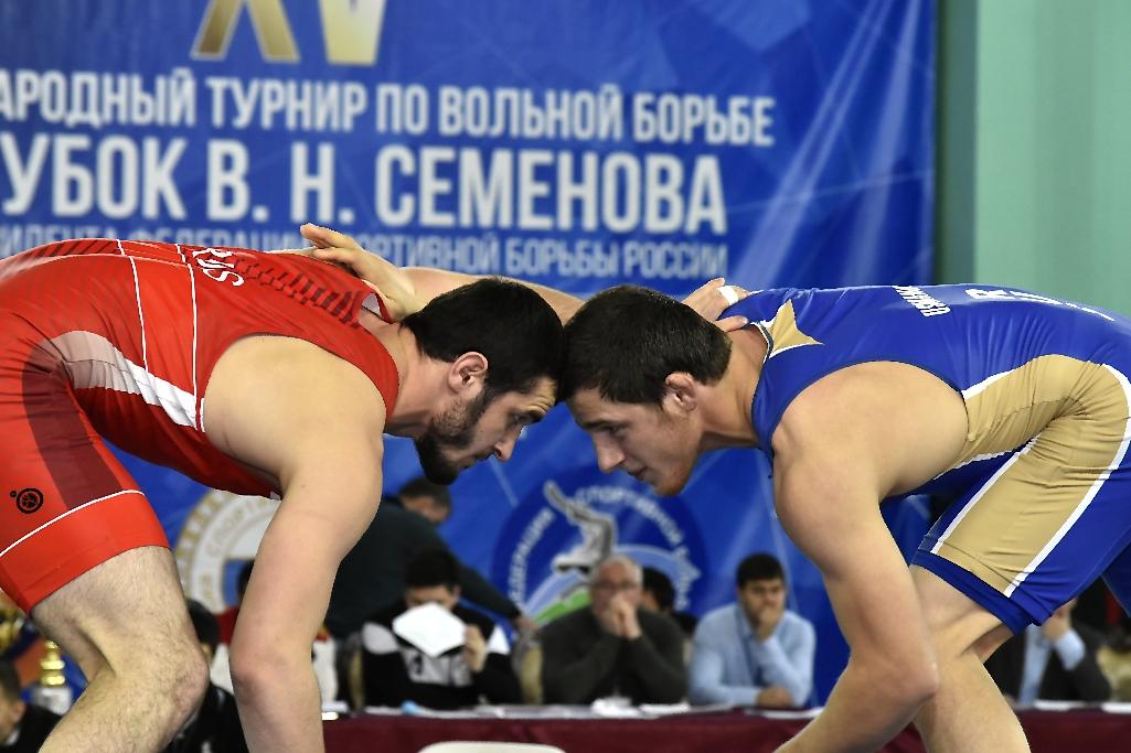 турнир на призы Владимира Семенова, вольная борьба,