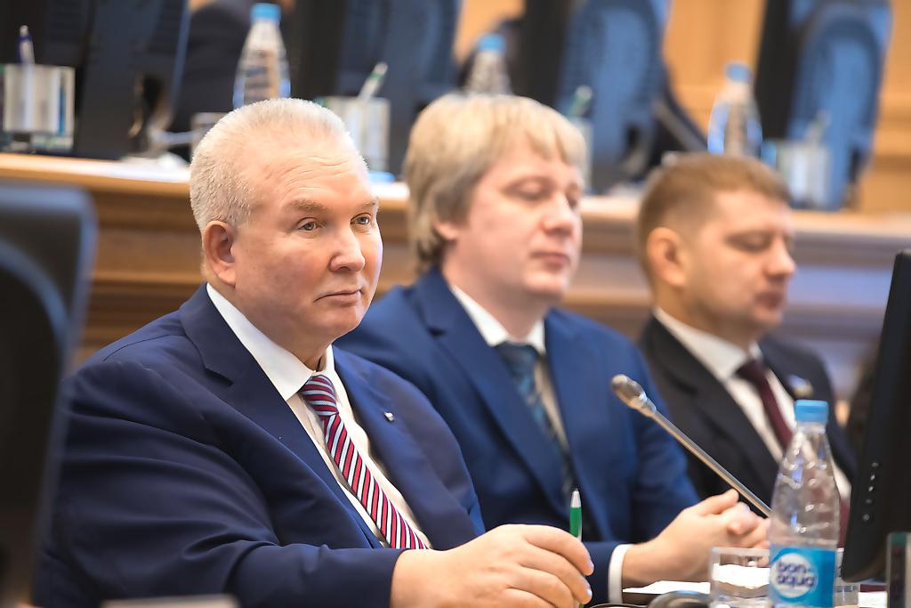Владимир Семенов, Дума