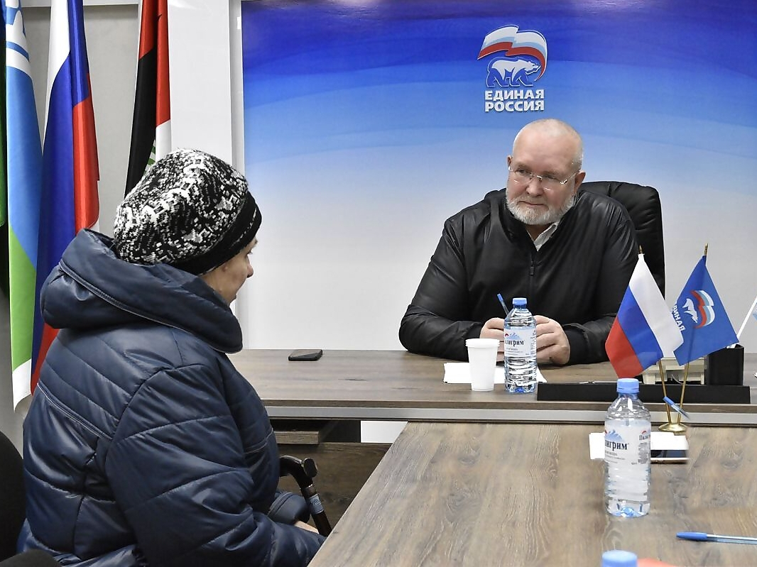 Владимир Семенов, прием, ЕР, Единая Россия